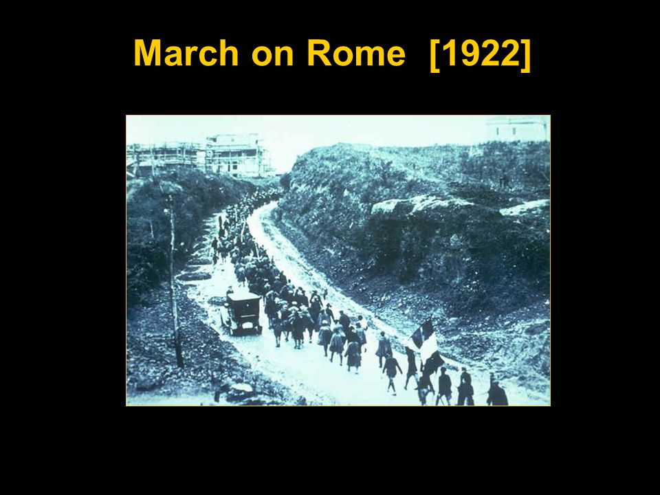 March on Rome [1922]